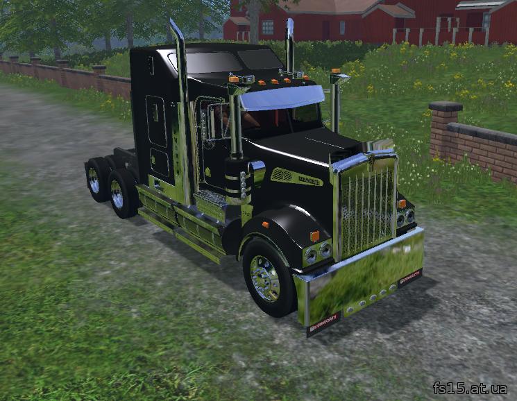 Мод грузовика Kenworth T908 v 0.1 Farming Simulator 05 скачать