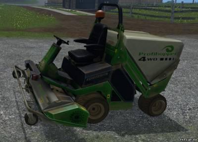 Скачать мод на газона косилку для farming simulator 2015