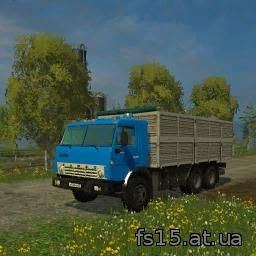 Мод грузовика КАМАЗ KAMAZ 03212 да Прицеп ГКБ Farming Simulator 0015, 05 скачать